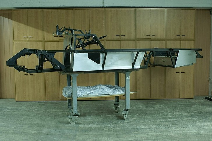 Gullwing02 Как сделать машину легенду своими руками