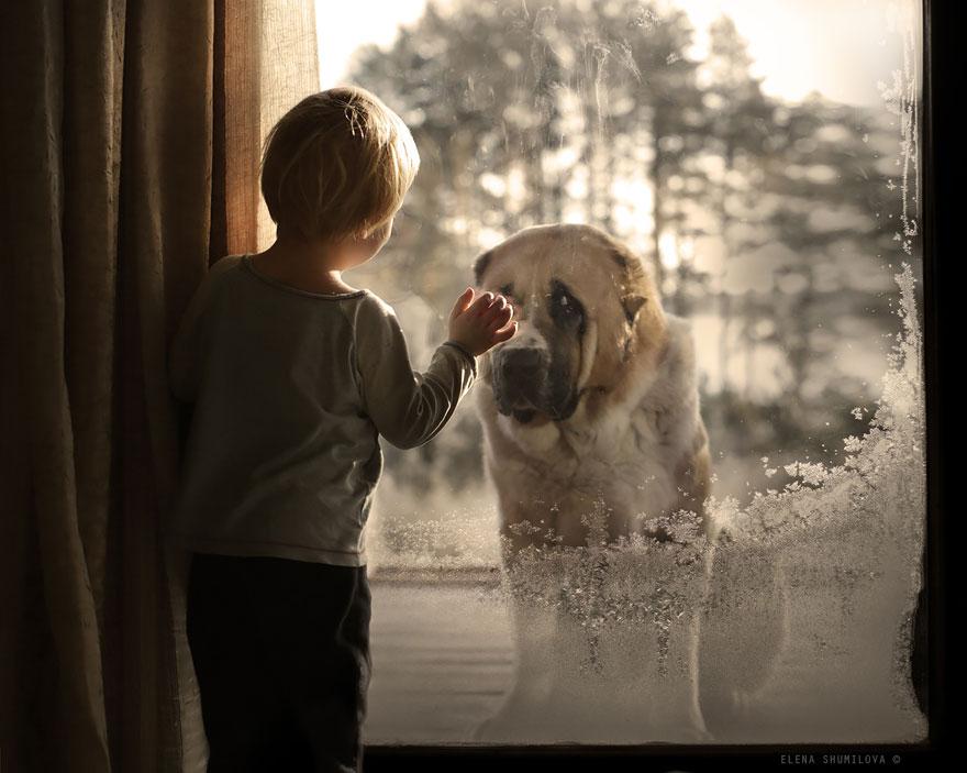 KidsWithAnimals15 Россиянка создает потрясающие фотографии своих детей с животными в деревне