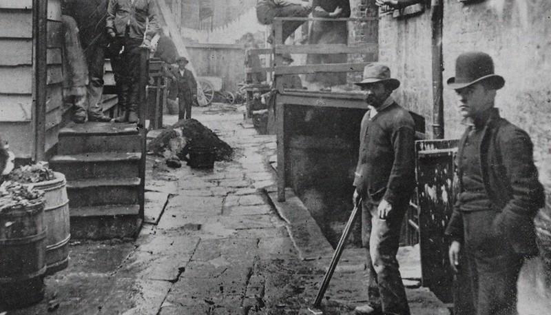 Банды Нью-Йорка в архивных снимках. Фото