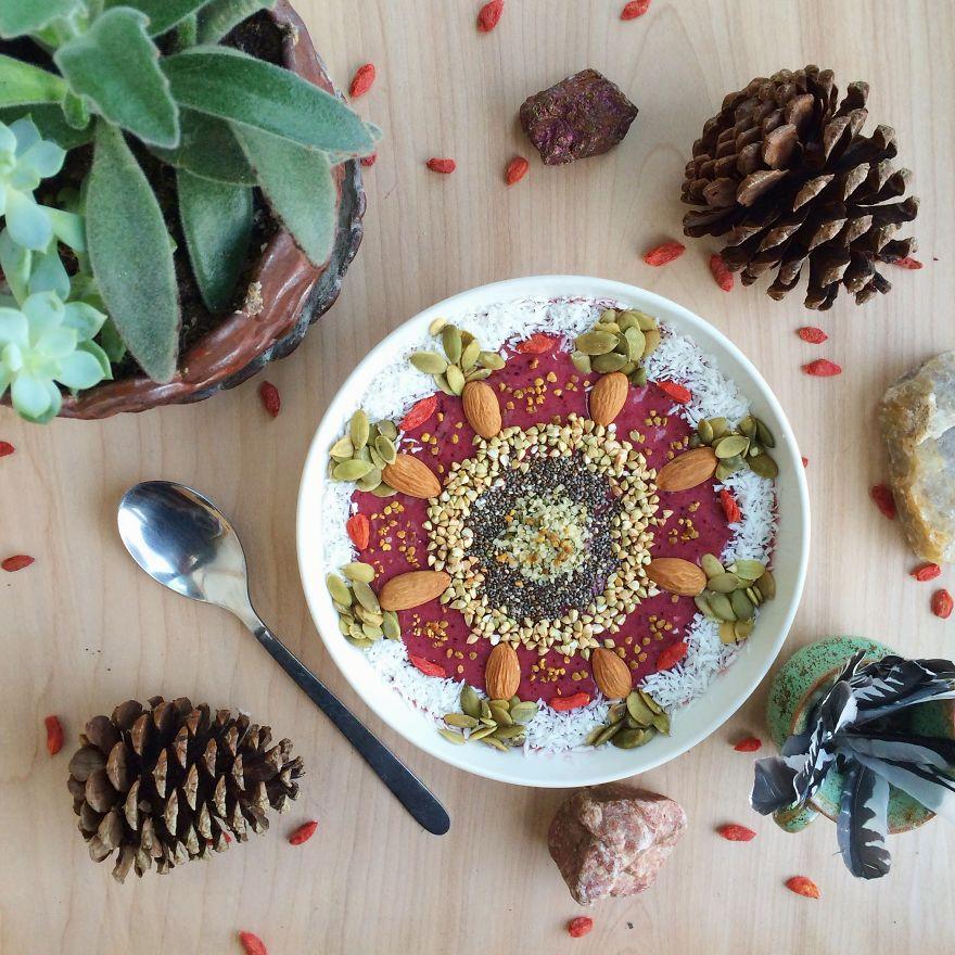 Vegan01 Девушка создает настоящие произведения искусства из своих веганских блюд