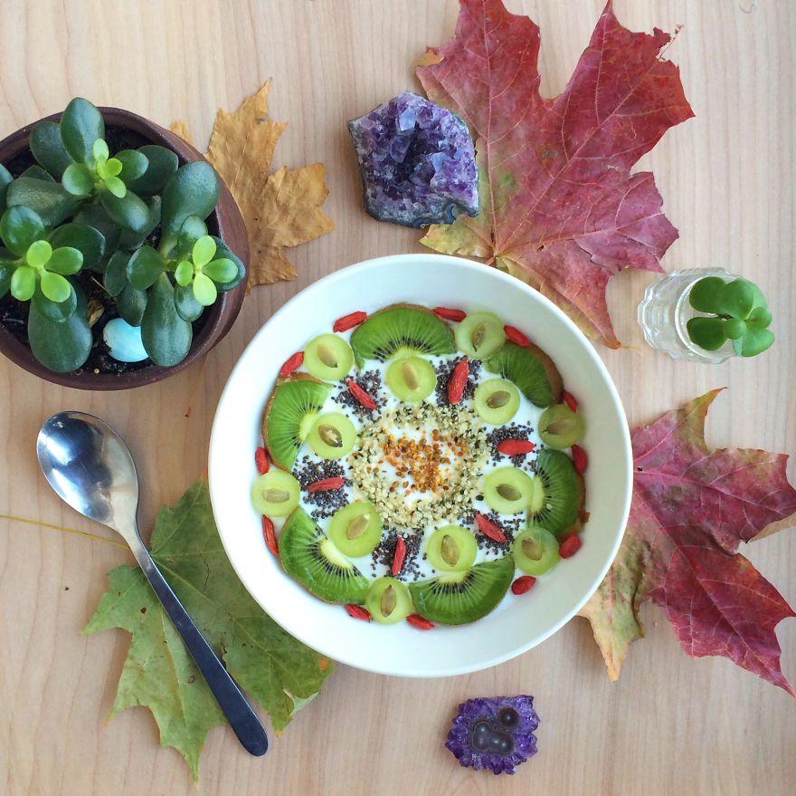 Vegan05 Девушка создает настоящие произведения искусства из своих веганских блюд