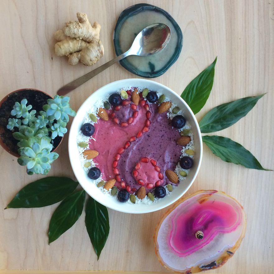 Vegan08 Девушка создает настоящие произведения искусства из своих веганских блюд