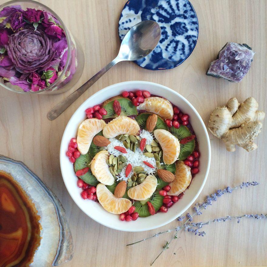 Vegan11 Девушка создает настоящие произведения искусства из своих веганских блюд