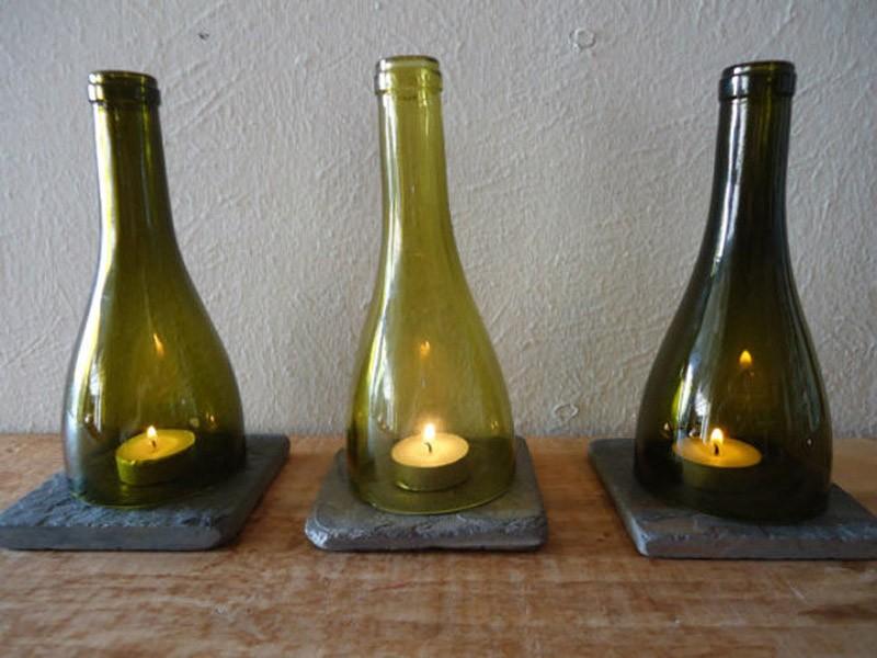 WineBottle03 22 способа превратить пустую бутылку в практичное произведение искусства