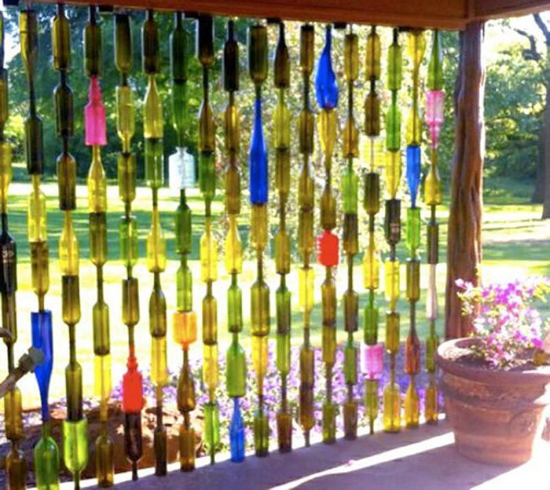WineBottle07 22 способа превратить пустую бутылку в практичное произведение искусства