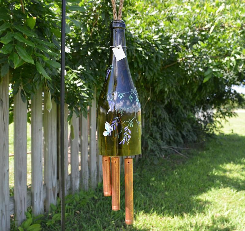 WineBottle10 22 способа превратить пустую бутылку в практичное произведение искусства