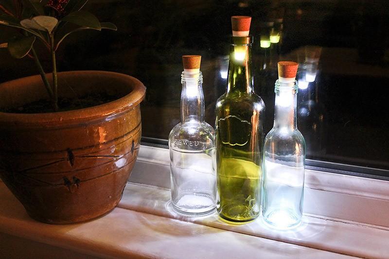 WineBottle15 22 способа превратить пустую бутылку в практичное произведение искусства