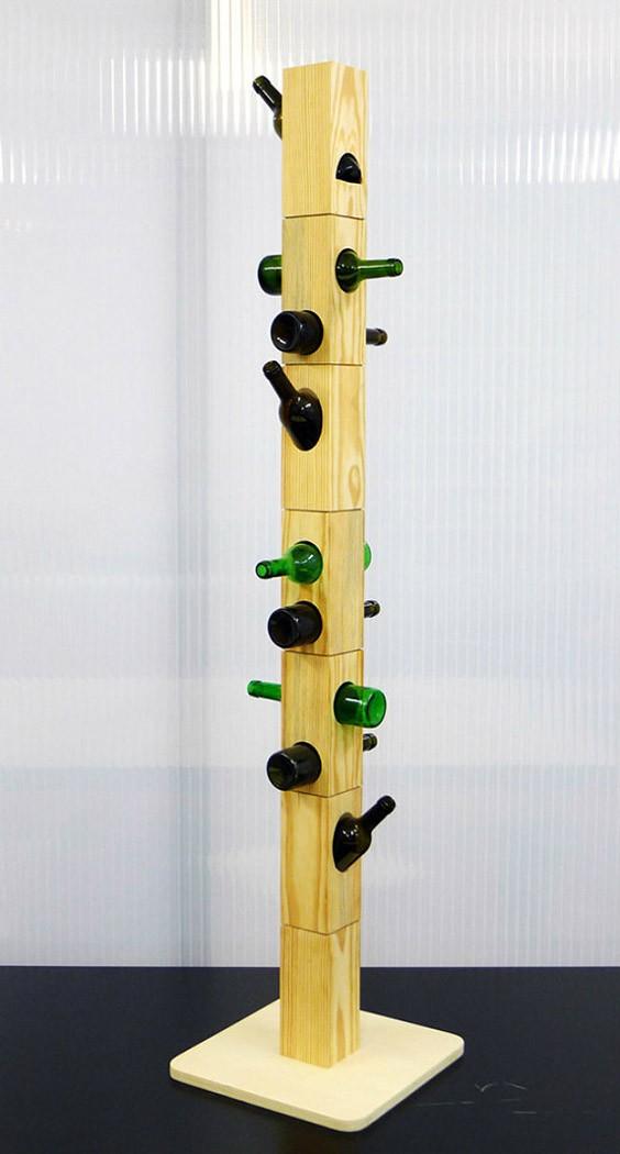 WineBottle18 22 способа превратить пустую бутылку в практичное произведение искусства