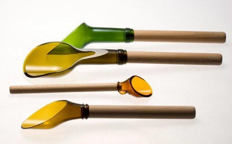 WineBottle19 22 способа превратить пустую бутылку в практичное произведение искусства