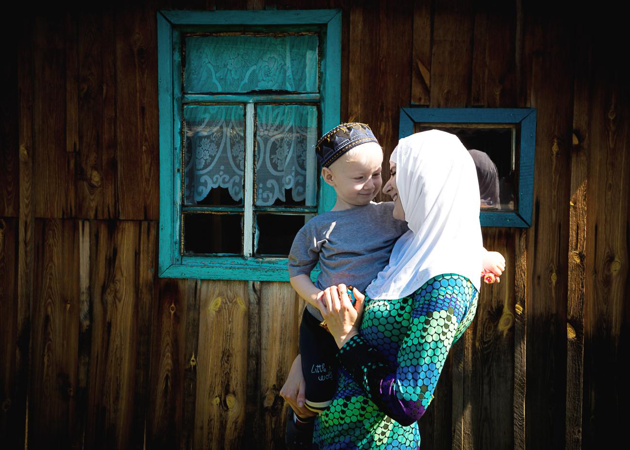 Татарская деревня глазами польского