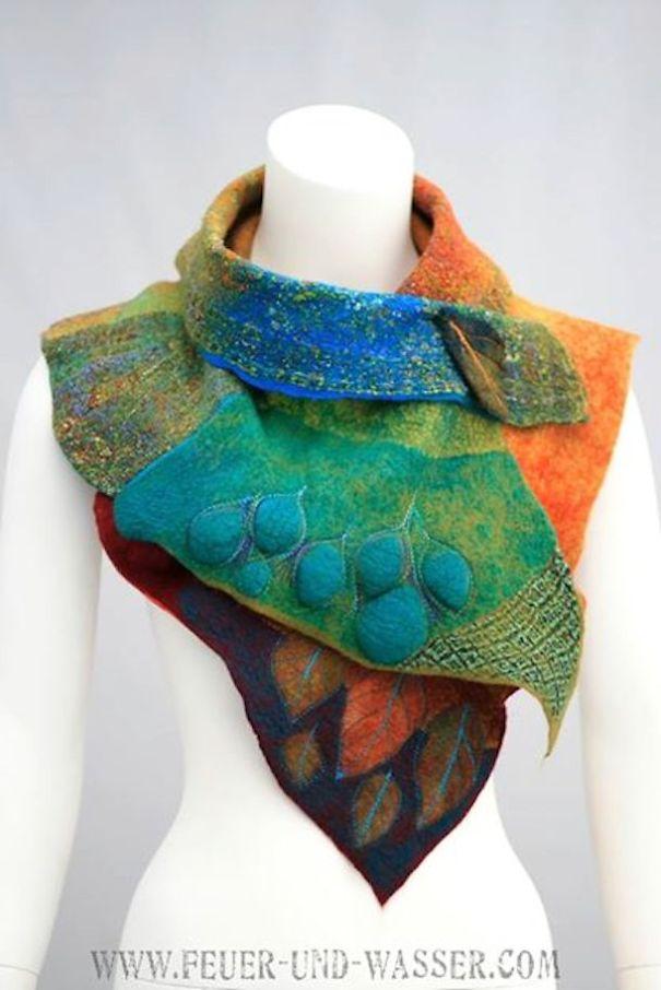creativescarves42 Не просто шарфы: ...надцать креативных идей