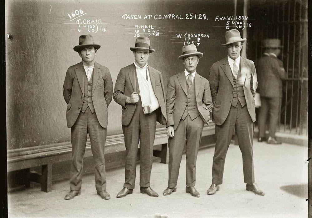 criminals12 Портреты преступников 1920 х годов