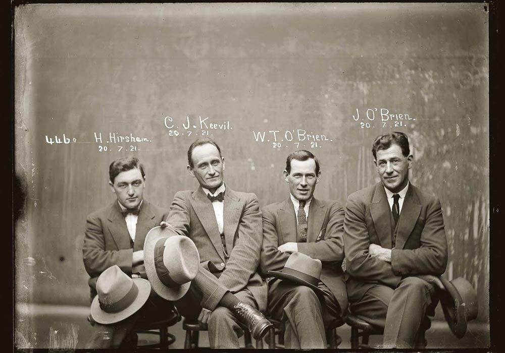 criminals14 Портреты преступников 1920 х годов