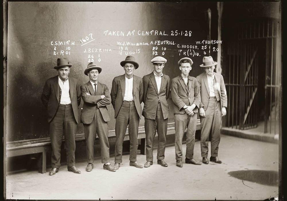 criminals18 Портреты преступников 1920 х годов