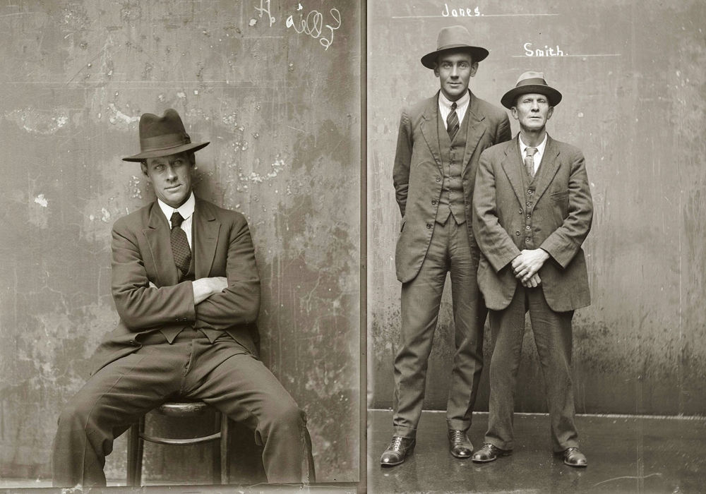 criminals20 Портреты преступников 1920 х годов