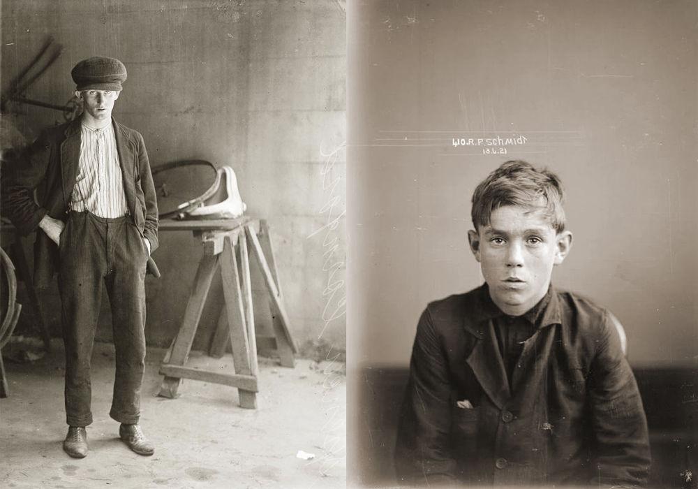 criminals27 Портреты преступников 1920 х годов