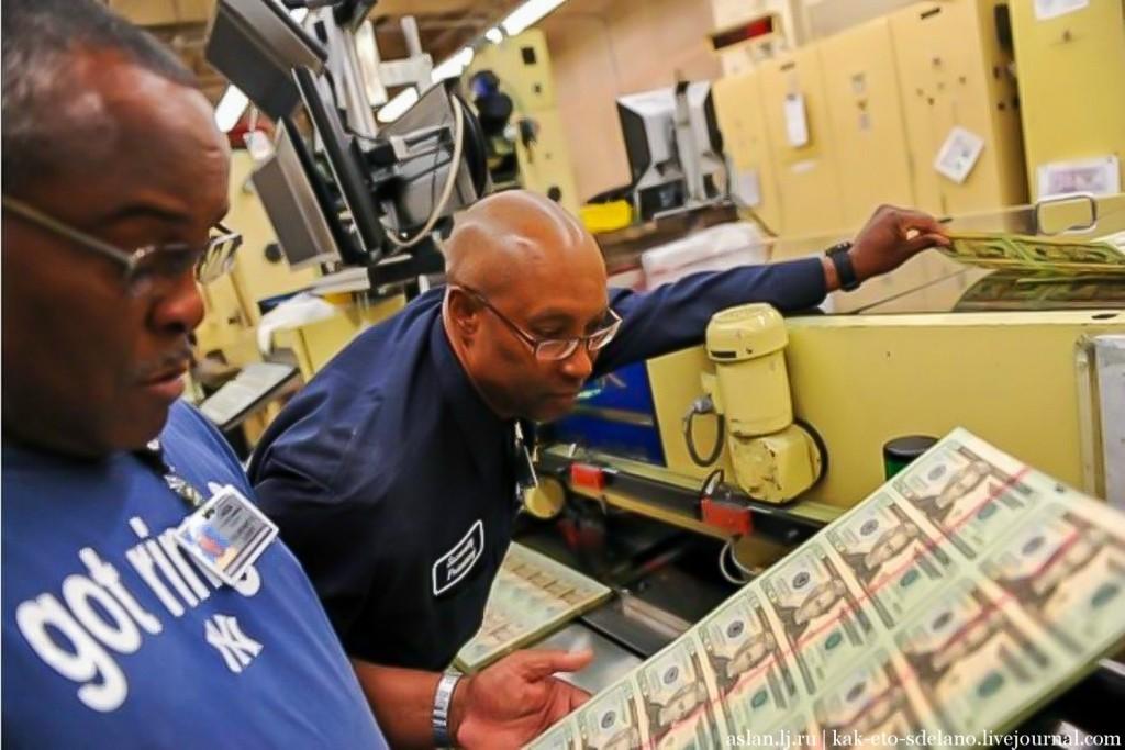 dollars13 Как производят доллары США