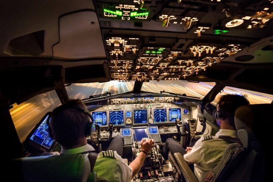 fromcockpit02 25 фотографий, сделанных пилотами из кабин самолётов