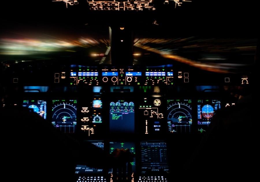 fromcockpit06 25 фотографий, сделанных пилотами из кабин самолётов