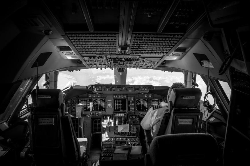fromcockpit07 25 фотографий, сделанных пилотами из кабин самолётов