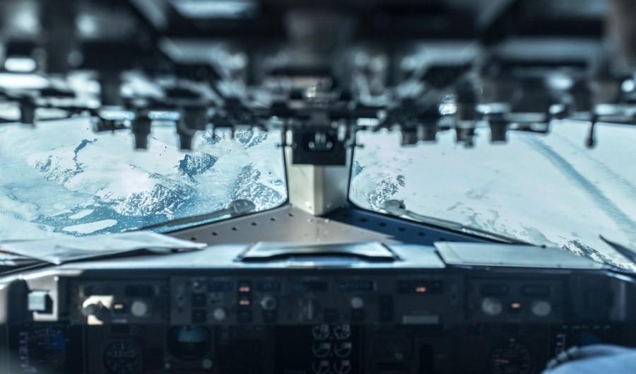 fromcockpit10 25 фотографий, сделанных пилотами из кабин самолётов