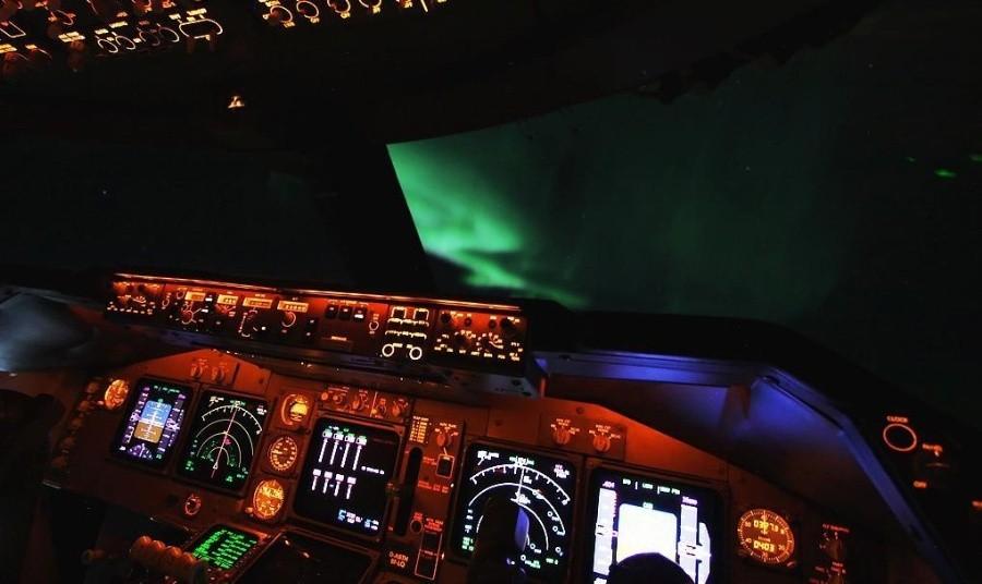 fromcockpit12 25 фотографий, сделанных пилотами из кабин самолётов