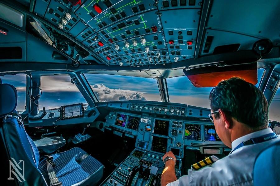 fromcockpit13 25 фотографий, сделанных пилотами из кабин самолётов