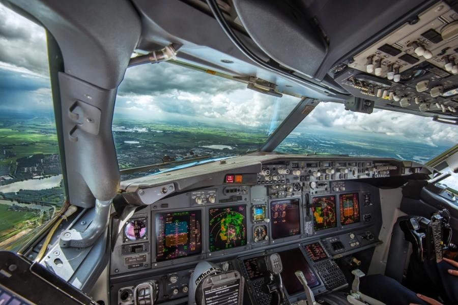 fromcockpit16 25 фотографий, сделанных пилотами из кабин самолётов