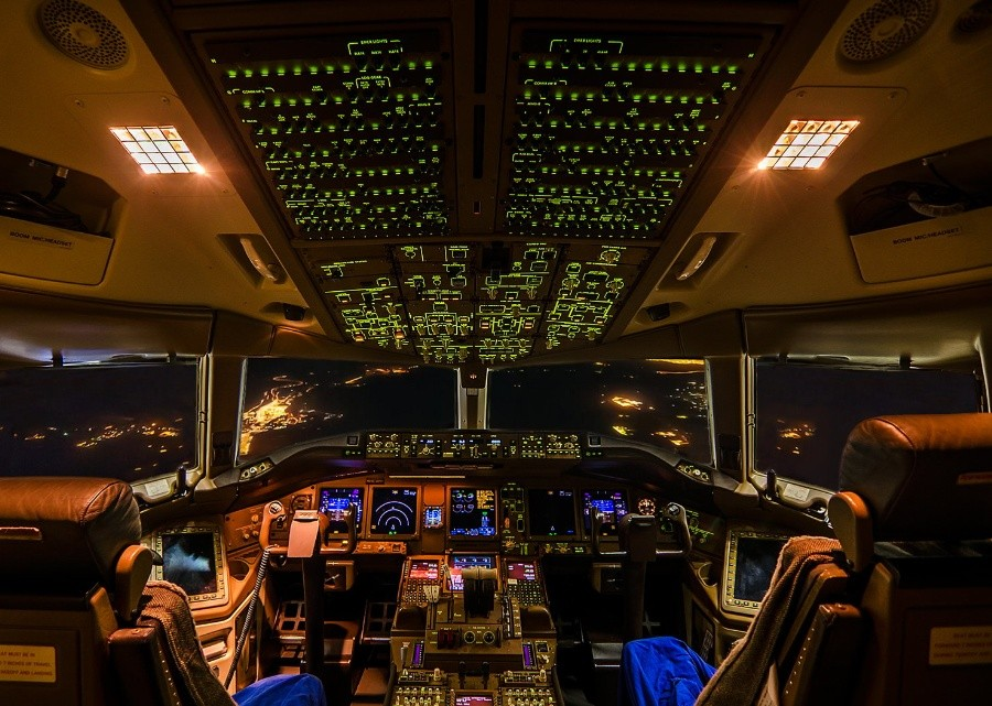 fromcockpit20 25 фотографий, сделанных пилотами из кабин самолётов