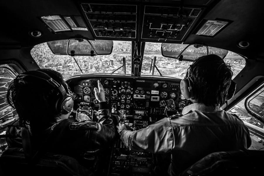 fromcockpit22 25 фотографий, сделанных пилотами из кабин самолётов