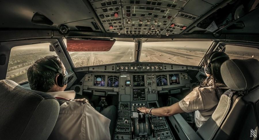 fromcockpit23 25 фотографий, сделанных пилотами из кабин самолётов