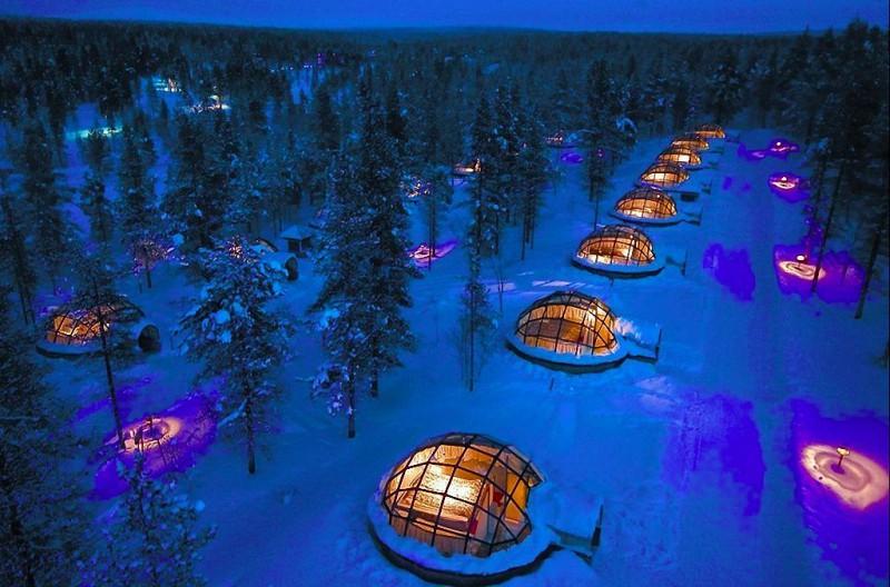 icehotels05 800x528 8 самых удивительных ледовых отелей мира