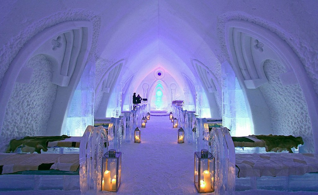 icehotels10 8 самых удивительных ледовых отелей мира