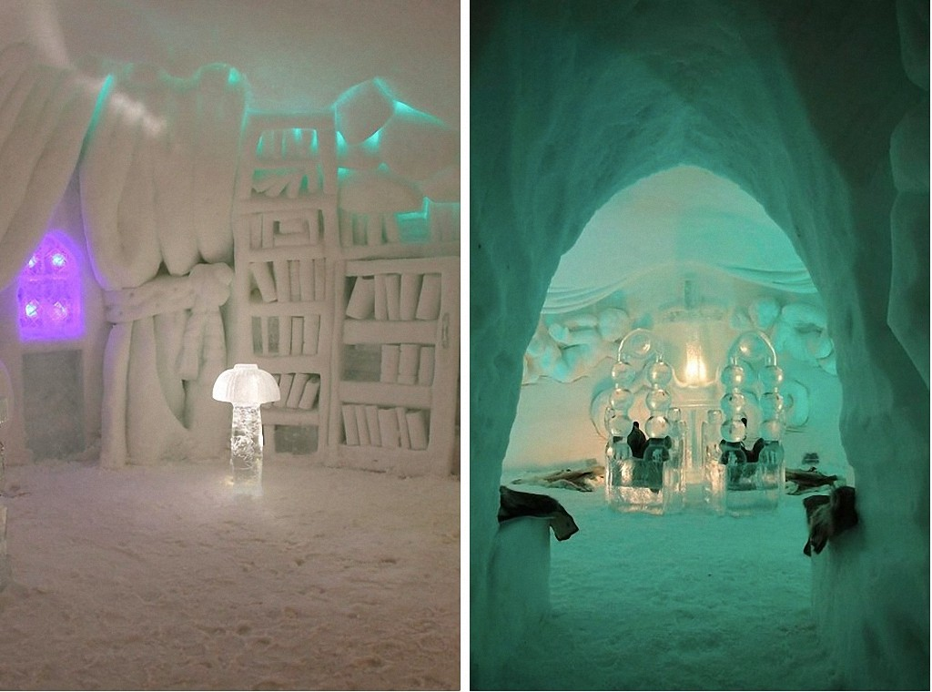 icehotels17 8 самых удивительных ледовых отелей мира