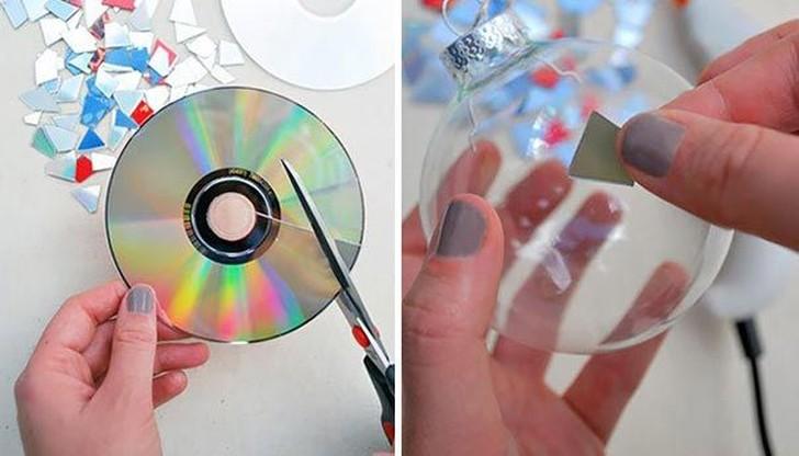 oldCDs09 25 блестящих идей по утилизации старых компакт дисков