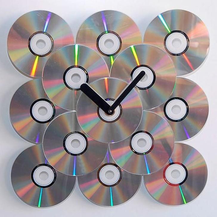 oldCDs21 25 блестящих идей по утилизации старых компакт дисков