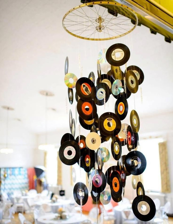 oldCDs32 25 блестящих идей по утилизации старых компакт дисков