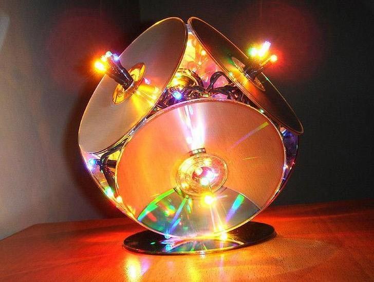oldCDs33 25 блестящих идей по утилизации старых компакт дисков