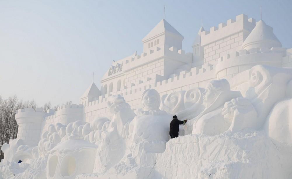 snowdrift08 20 способов художественно оформить сугроб