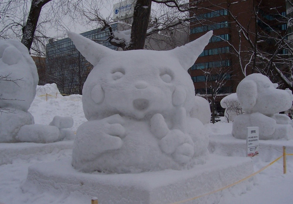 snowdrift09 20 способов художественно оформить сугроб
