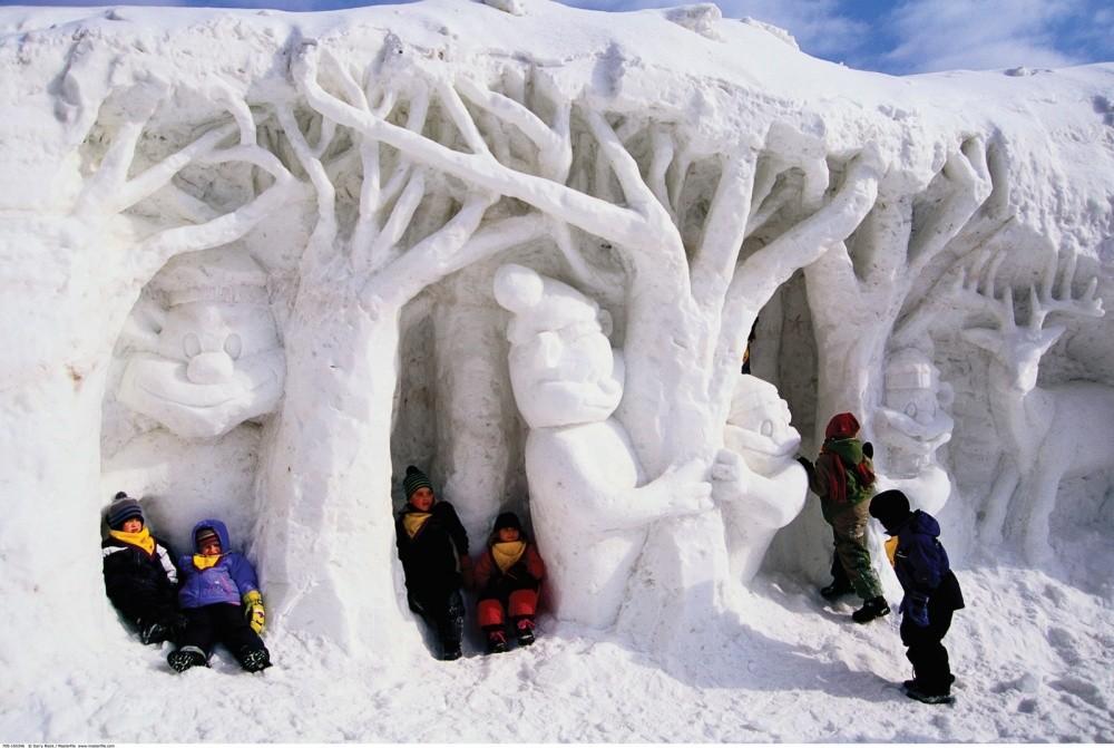 snowdrift12 20 способов художественно оформить сугроб