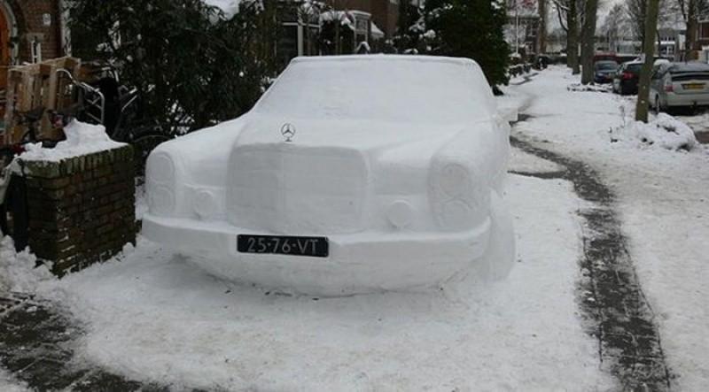 snowdrift13 20 способов художественно оформить сугроб