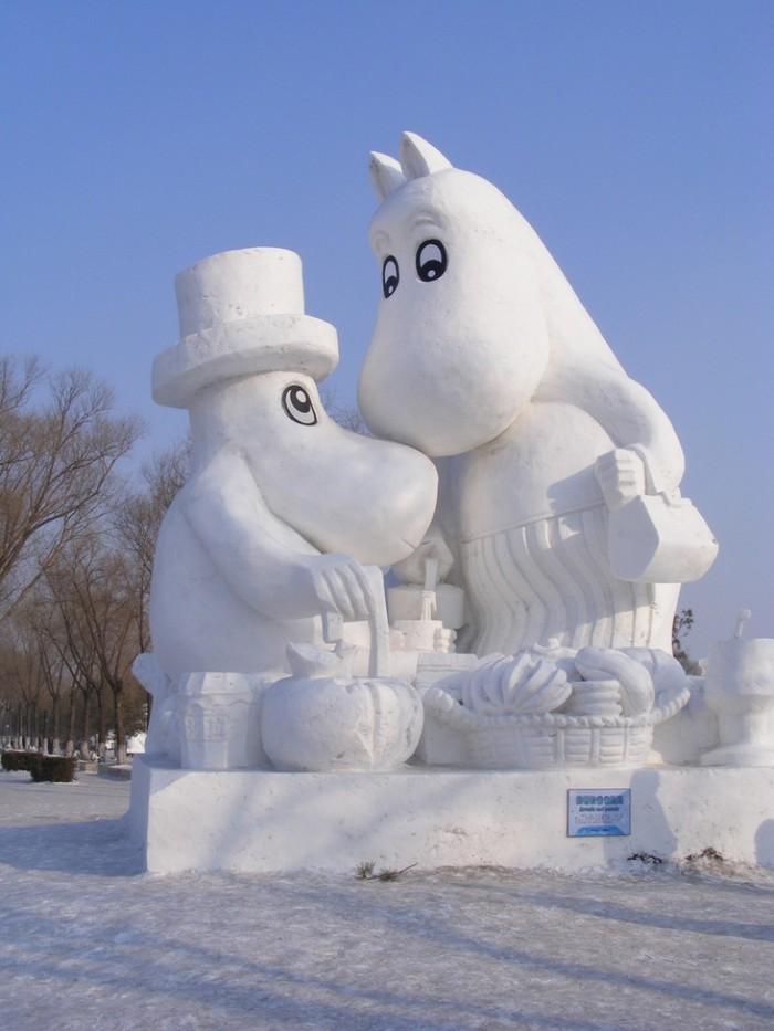 snowdrift15 20 способов художественно оформить сугроб