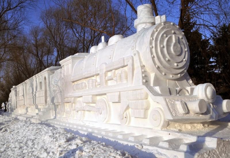 snowdrift17 20 способов художественно оформить сугроб