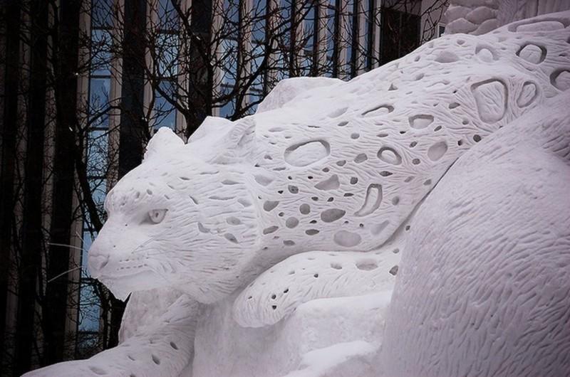 snowdrift18 20 способов художественно оформить сугроб