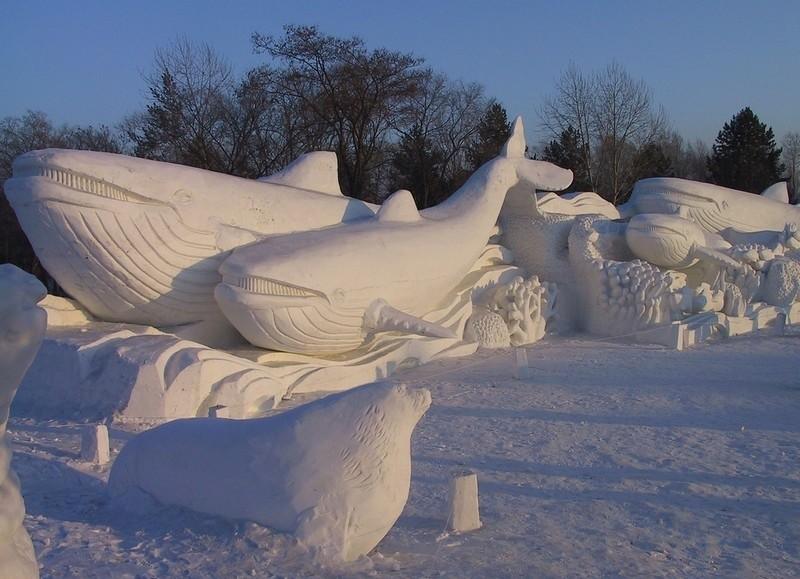 snowdrift19 20 способов художественно оформить сугроб