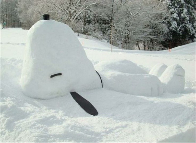 snowdrift20 20 способов художественно оформить сугроб