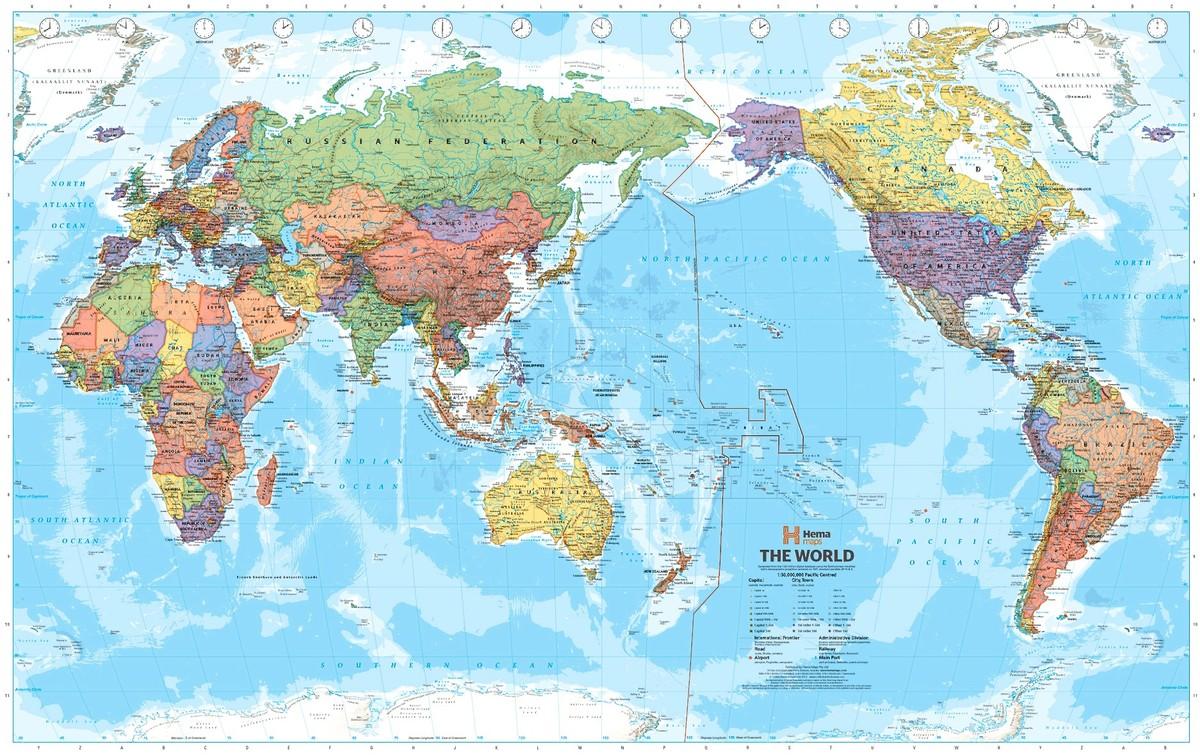 worldmaps04 Карты мира?—?как они выглядят в разных странах