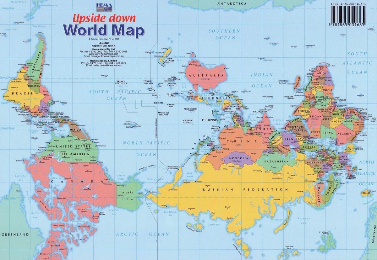 worldmaps05 Карты мира?—?как они выглядят в разных странах