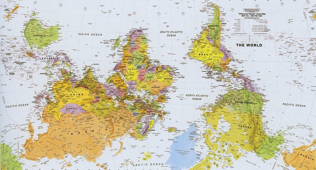 worldmaps06 Карты мира?—?как они выглядят в разных странах